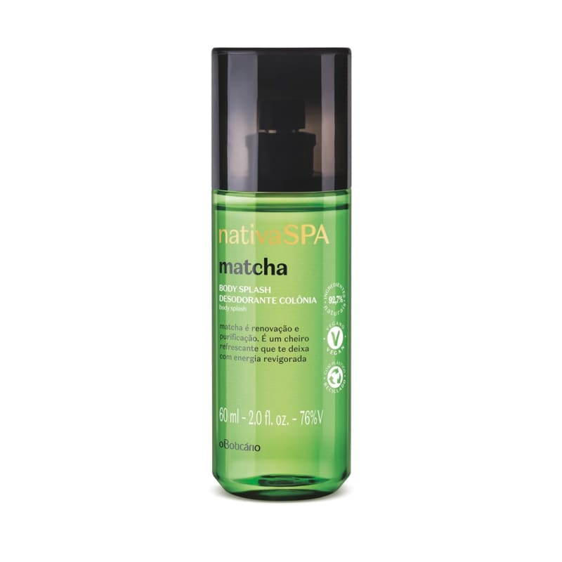 Body Splash Desodorante Colônia Nativa SPA Matcha 60ml