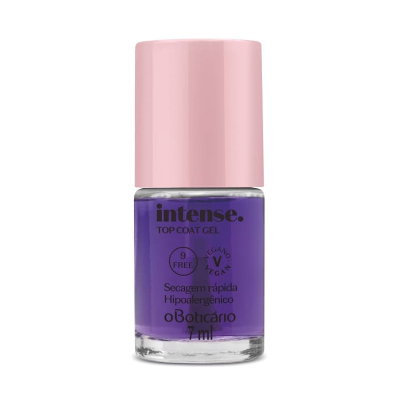 Esmalte Top Coat Gel Intense 7ml