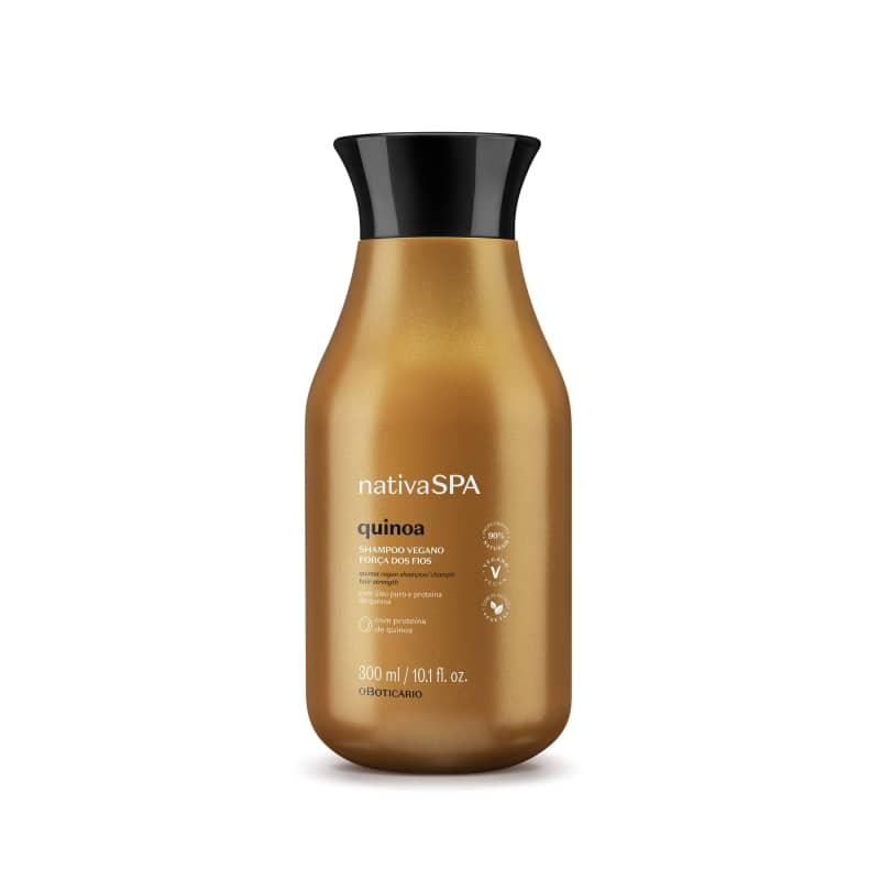 Shampoo Vegano Força dos Fios Nativa Spa Quinoa 300ml
