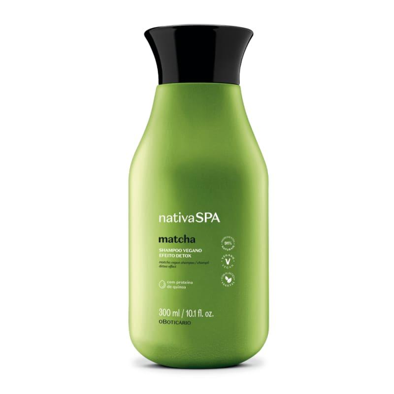 Shampoo Vegano Efeito Detox Nativa SPA Matcha 300ml