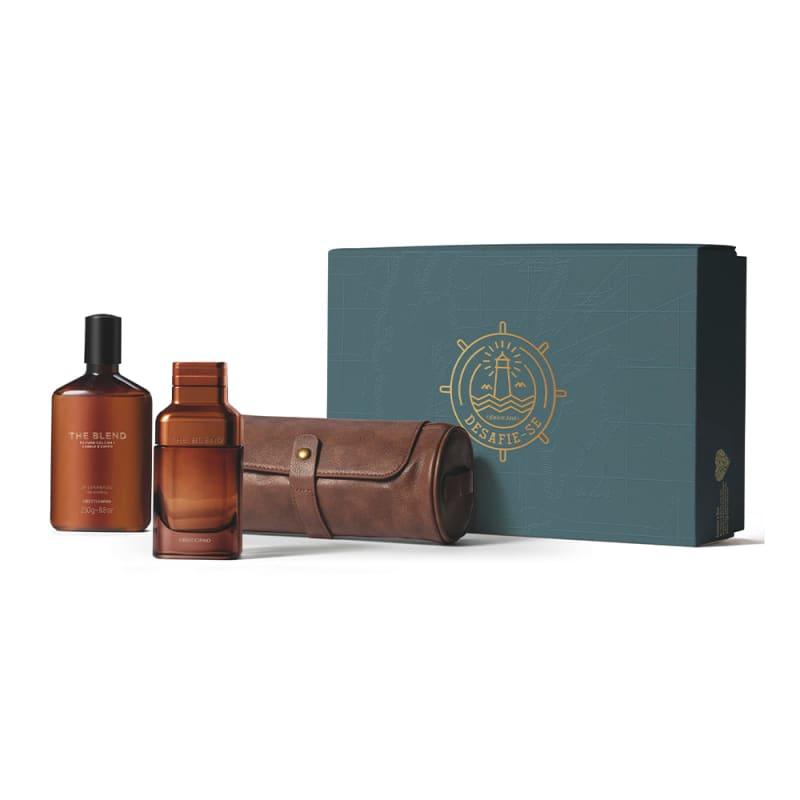 Kit Presente The Blend: Eau de Parfum 100ml + Shower Gel 250g + Nécessaire