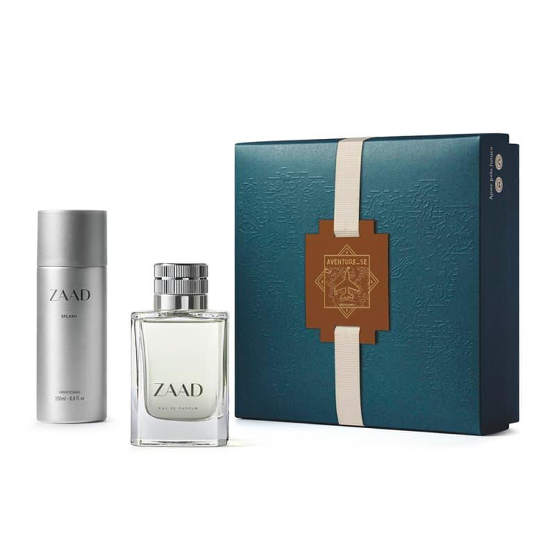 Kit Presente Zaad: Eau de Parfum 95ml + Body Splash 200ml