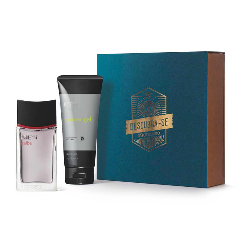 Kit Presente Dia dos Pais MEN Galbe: Desodorante Colônia 100ml + Shower Gel 3 em 1 205g