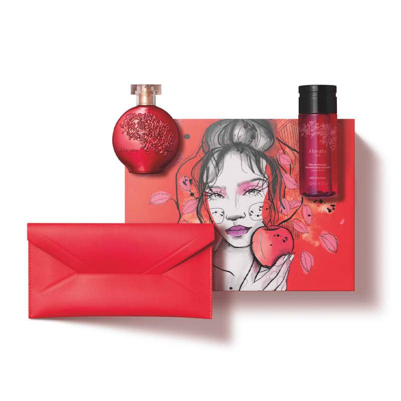 Kit Presente Floratta Red (4 itens)