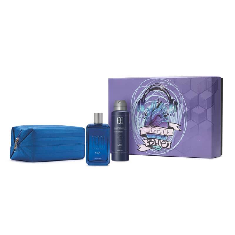 Kit Presente Dia dos Namorados Egeo Blue (4 itens)