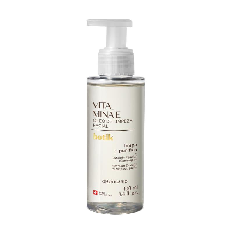 Óleo de Limpeza Facial Vitamina E Botik 100ml