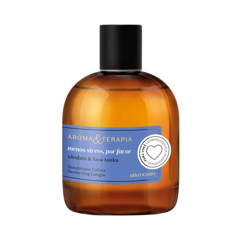 Aroma & Terapia Menos Stress, Por Favor Desodorante Colônia 75ml