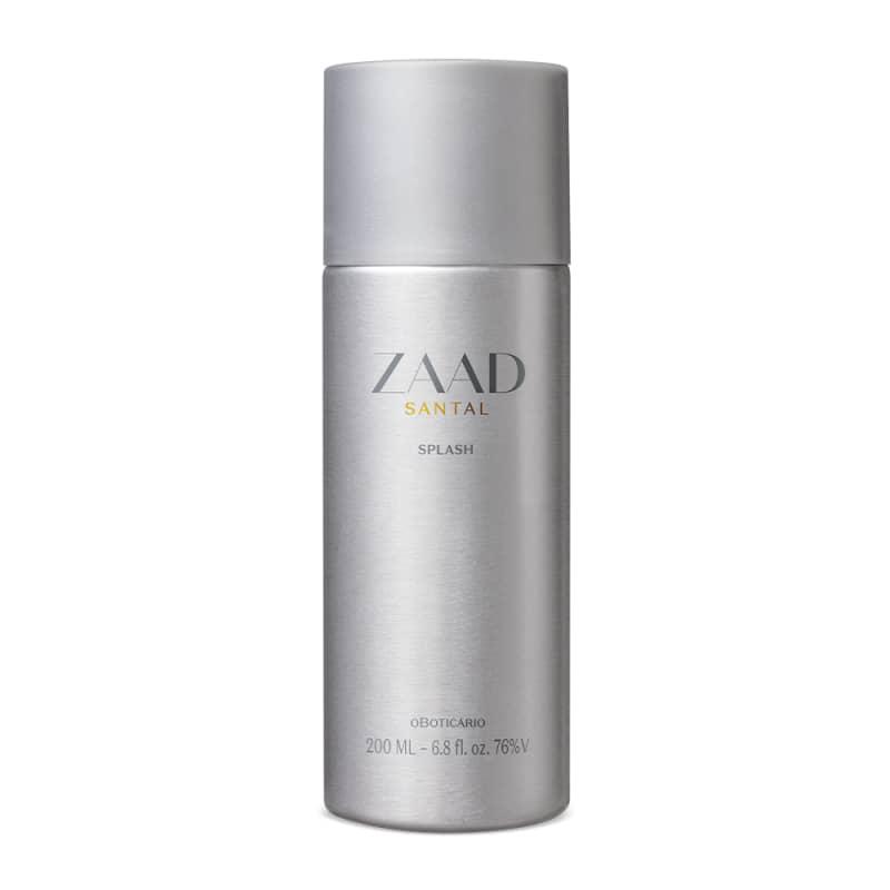 Zaad Santal Desodorante Colônia Splash 200ml