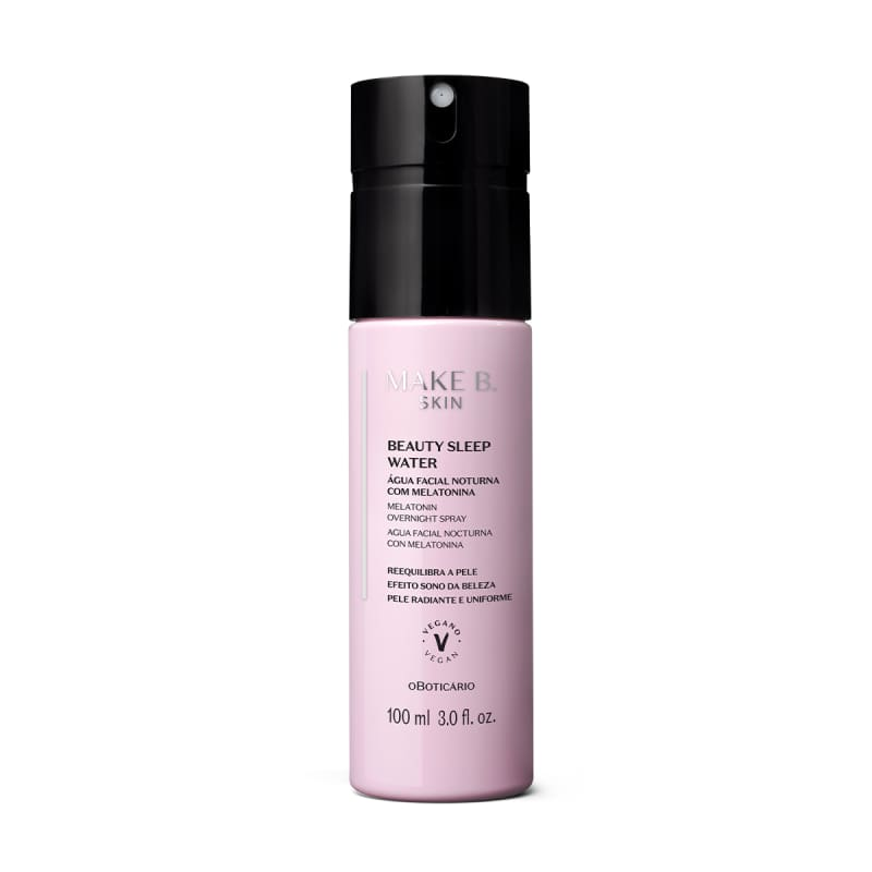 Água Facial Noturna Beauty Sleep Water Make B. Skin 100ml