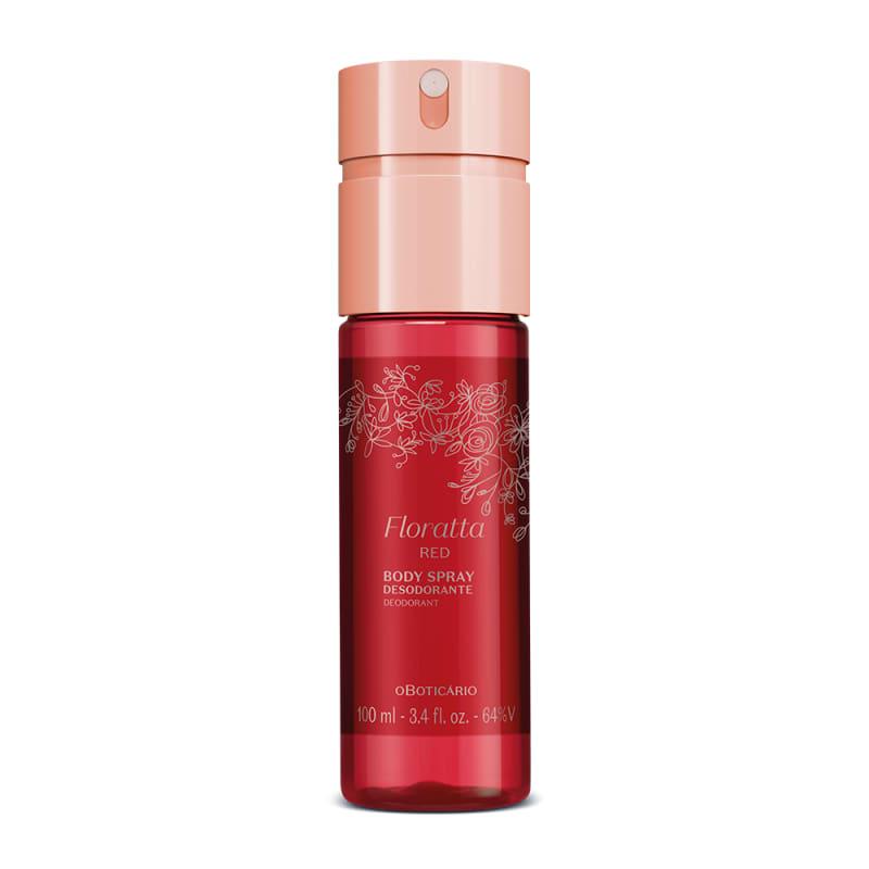 o Boticário Floratta Red - Body Spray Desodorante Feminino 100ml