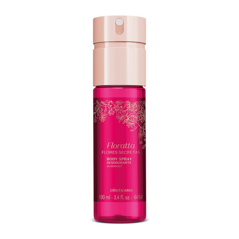 o Boticário Floratta Flores Secretas - Body Spray Desodorante Feminino 100ml