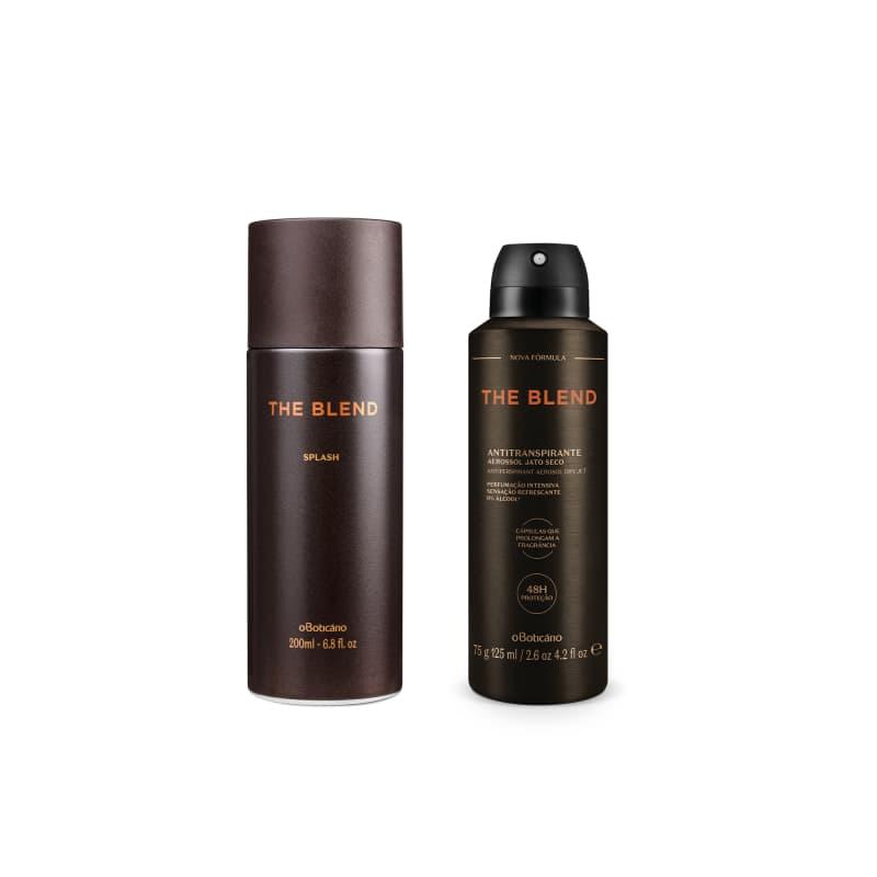 Combo Presente The Blend: Splash Desodorante Colônia 200ml + Antitranspirante 125ml