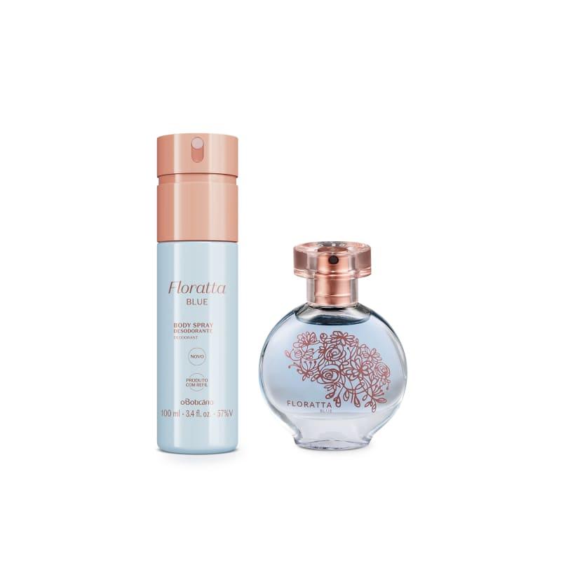 Combo Presente Floratta Blue: Desodorante Colônia Pocket 30ml + Body Spray 100ml