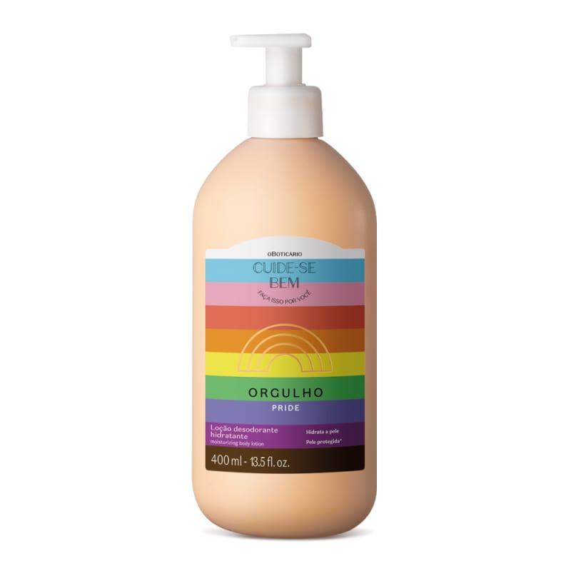 Loção Hidratante Desodorante Cuide-se Bem Orgulho 400ml