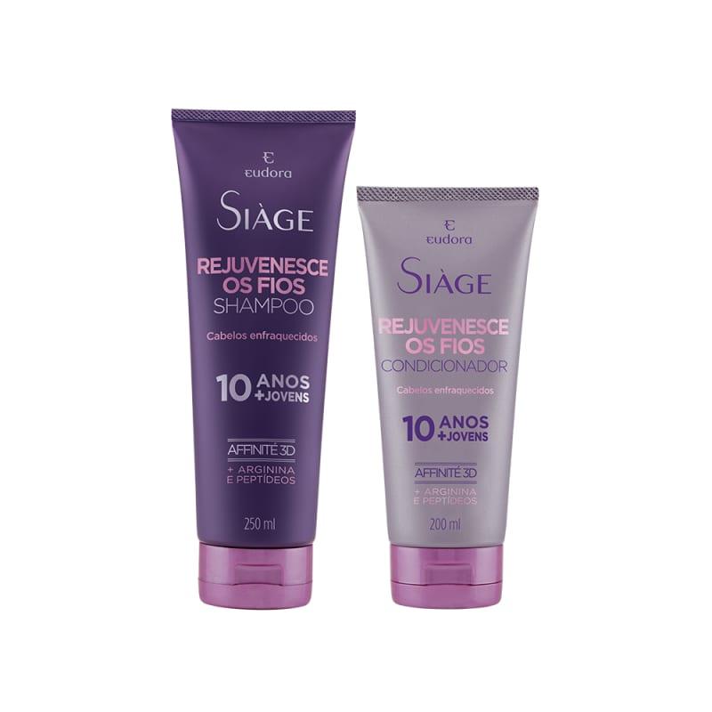 Kit Siàge Rejuvenesce Os Fios: Shampoo e Condicionador