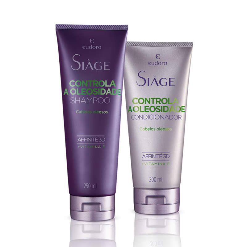 Kit Siàge Controla a Oleosidade Shampoo e Condicionador