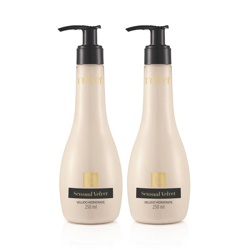 Kit Eudora Sensual Velvet - Loção Hidratante (2 produtos)