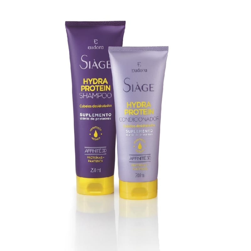 Kit Siàge Hydra Protein Shampoo + Condicionador