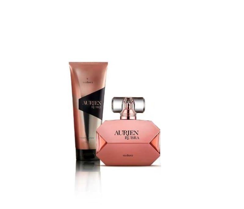 Kit Aurien Rubra Colônia + Hidratante Desodorante