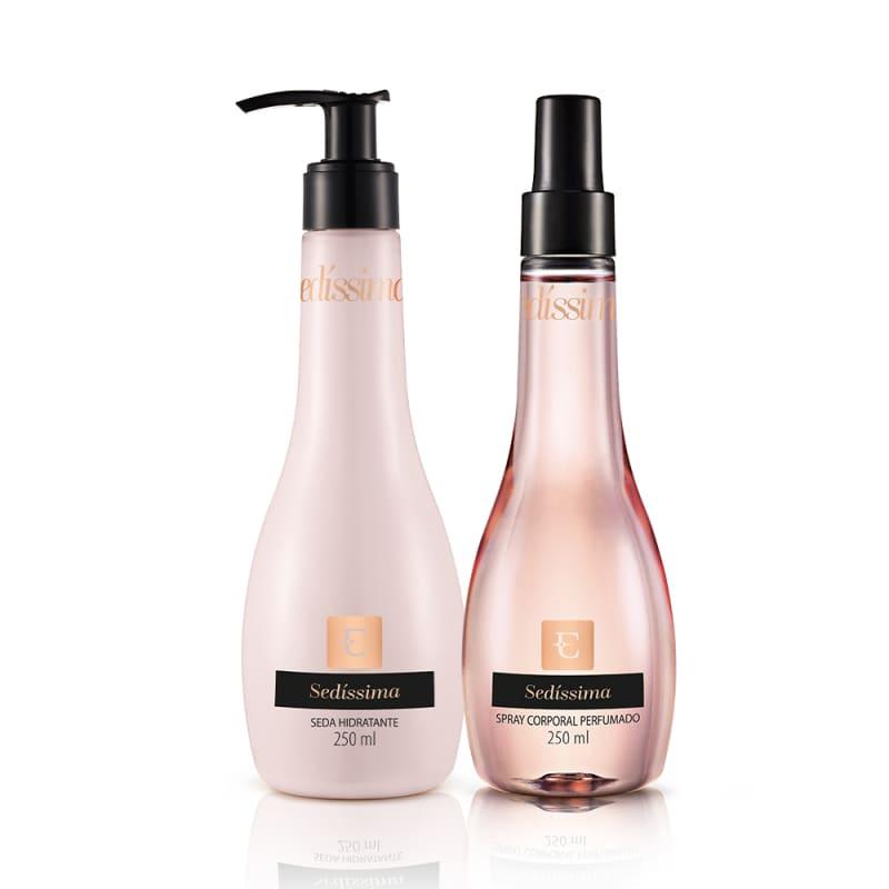 Kit Sedíssima Loção Desodorante Hidratante + Spray Corporal