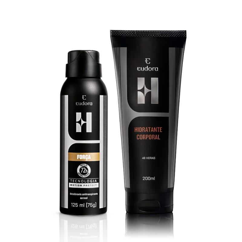 Combo Eudora H: Antitranspirante Aerossol + Hidratante Desodorante Corporal