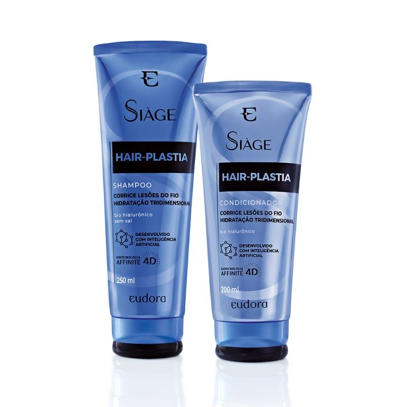 Combo Siàge Hair Plastia Shampoo + Condicionador