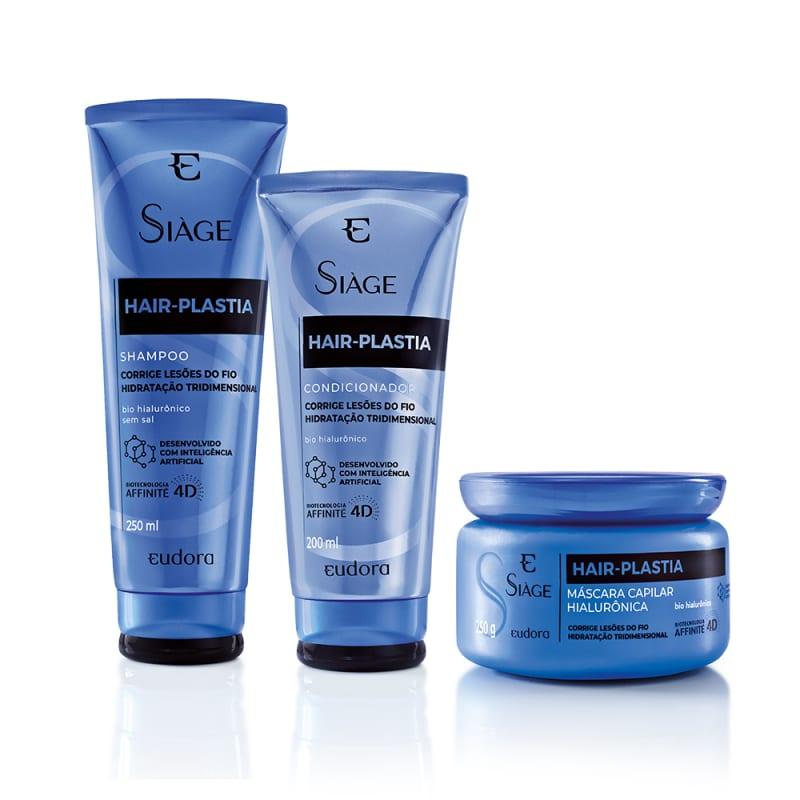 Combo Siàge Hair Plastia Shampoo + Máscara + Condicionador