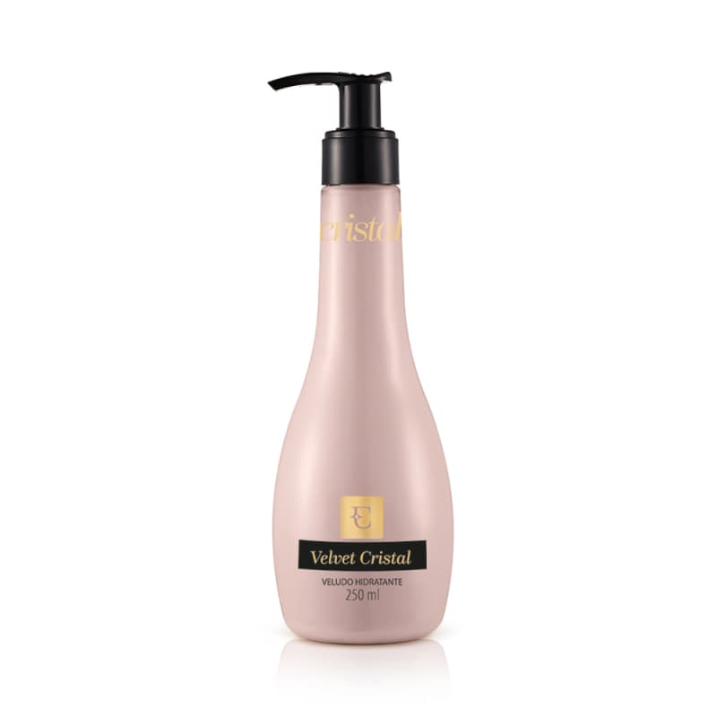 Loção Hidratante Desodorante Corporal Velvet Cristal 250ml