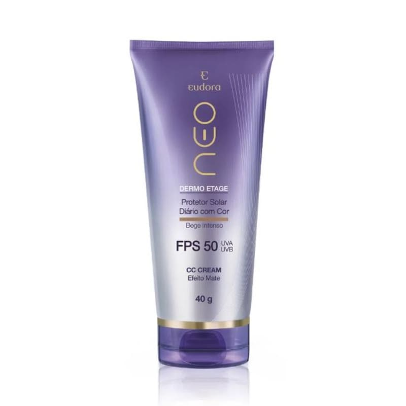 CC Cream Protetor Solar FPS50 Bege Intenso 40g