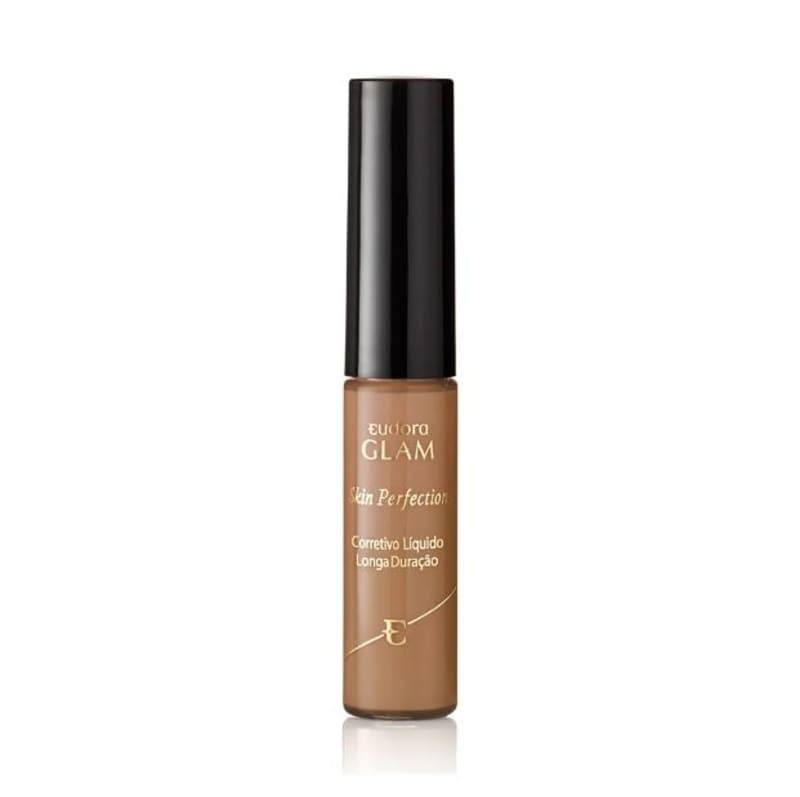 Corretivo Líquido Longa Duração Glam Skin Perfection Bege Escuro 1 6,4ml