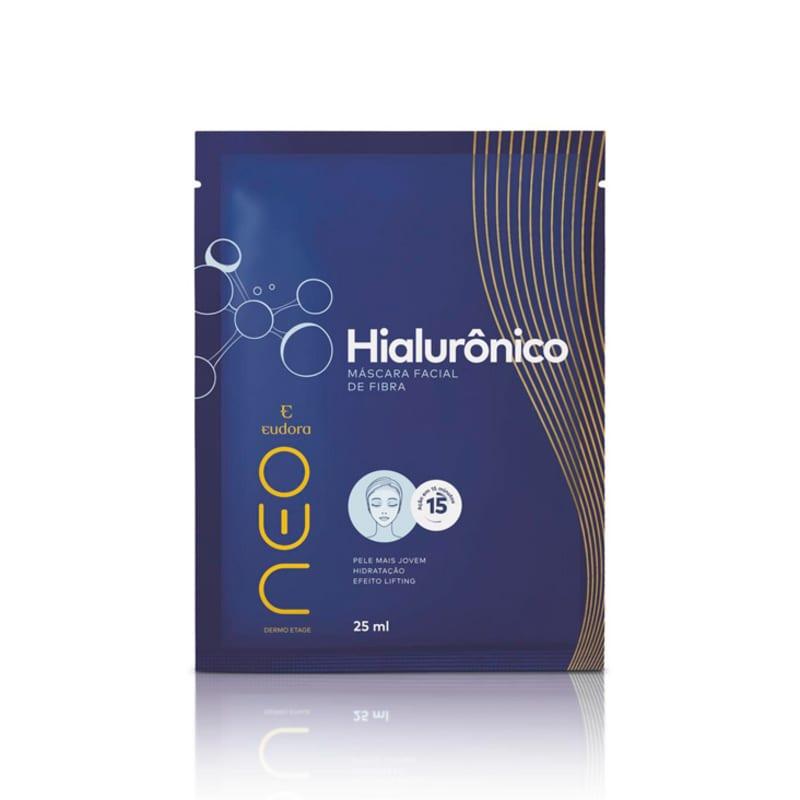 Máscara Facial De Fibra Neo Dermo Etage Hialurônico 25ml