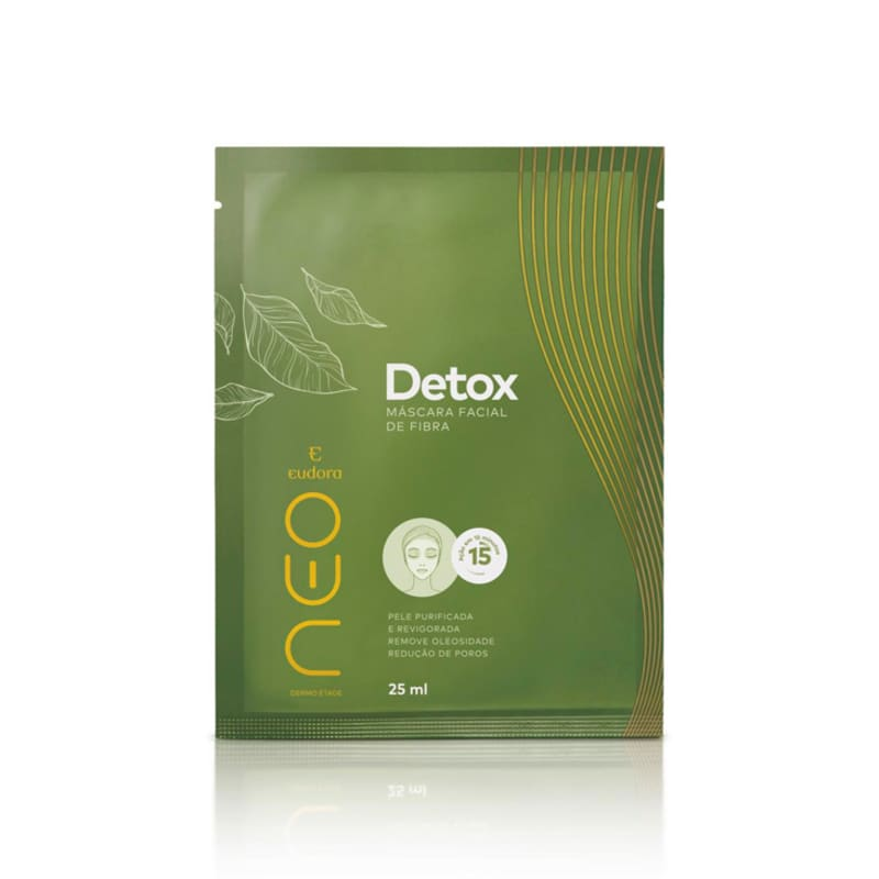 Máscara Facial De Fibra Neo Dermo Etage Detox 25ml