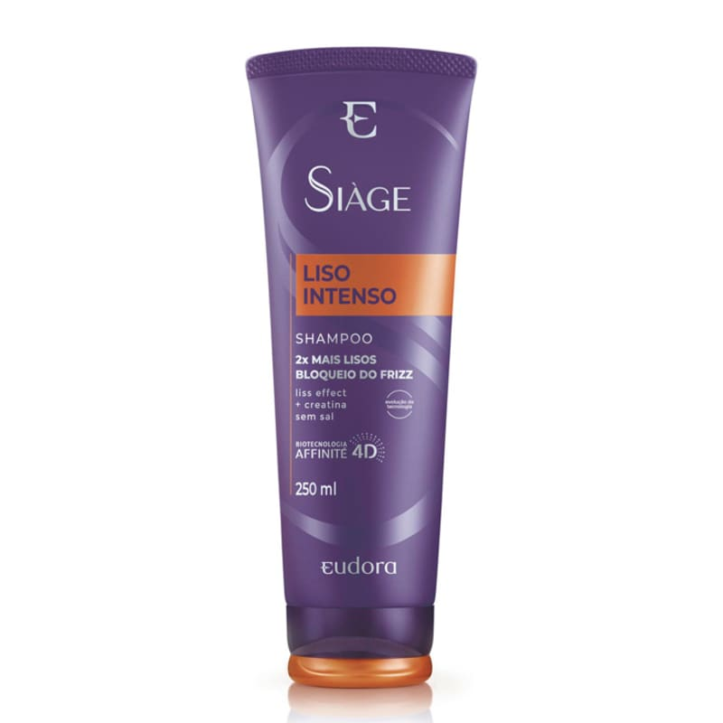 Shampoo Siàge Liso Intenso 250ml