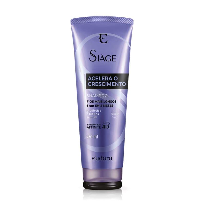 Shampoo Siàge Acelera O Crescimento 250ml (Nova Versão)
