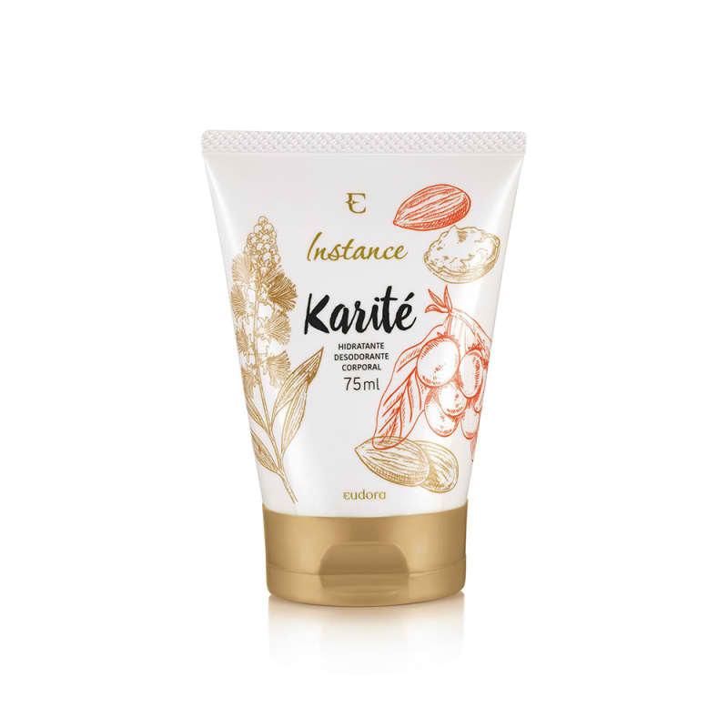 Loção Hidratante Desodorante Corporal Instance Karité 75ml