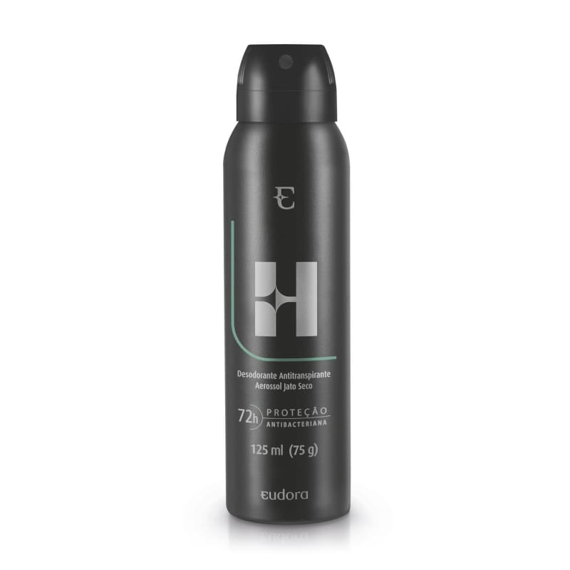 Desodorante Antitranspirante Aerossol Eudora H 125ml
