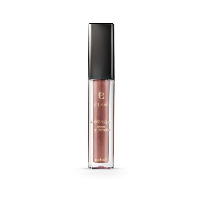 Gloss Glam Treat Ácido Hialurônico Rosé Natural 5,4ml