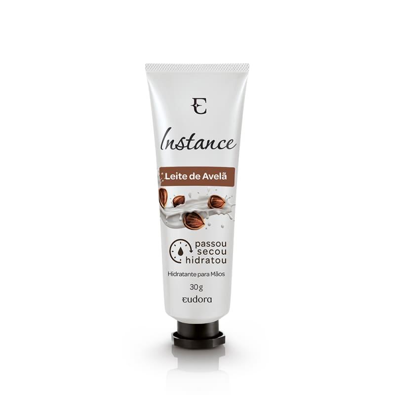 Creme Hidratante Para Mãos Instance Leite de Avelã, 30 g