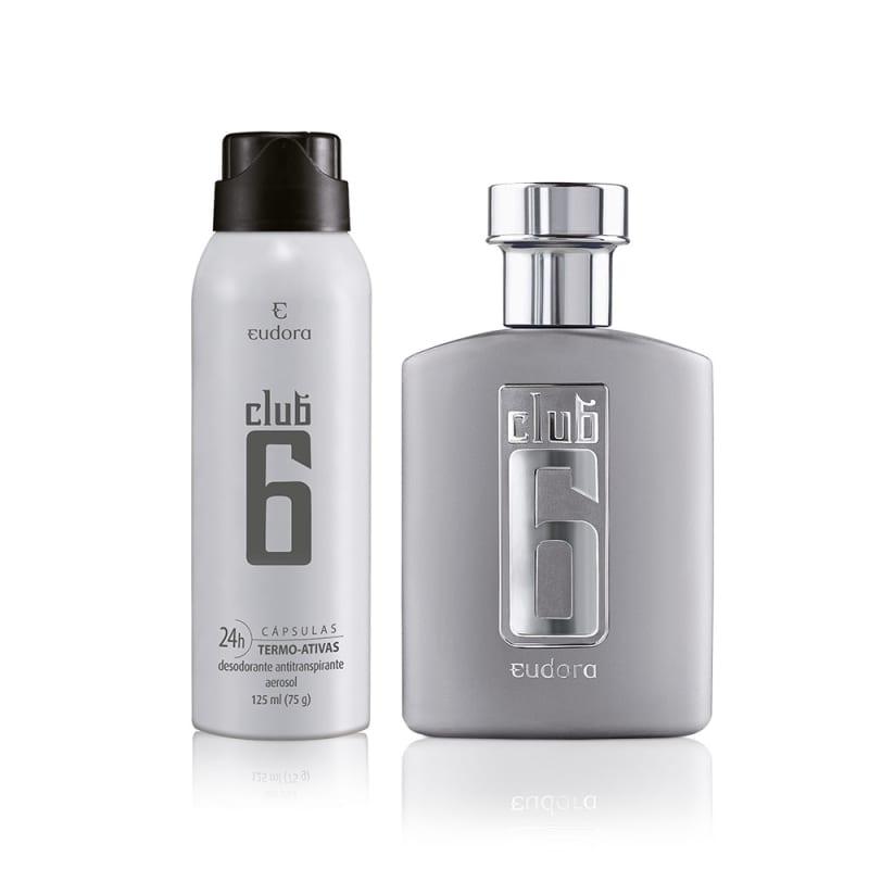 Kit Club 6 Colônia Desodorante + Desodorante
