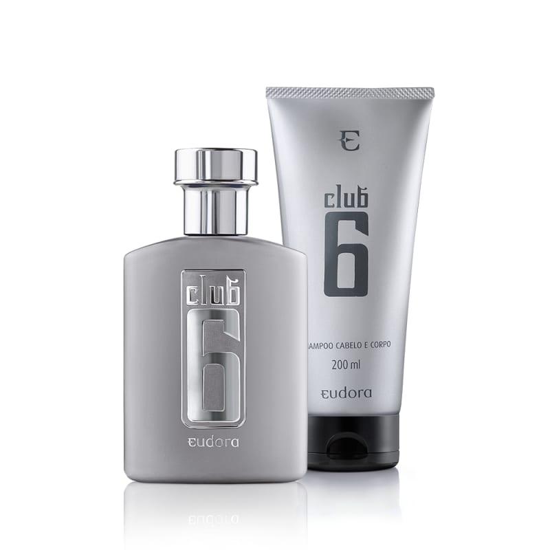 Kit Club 6 Shampoo + Colônia