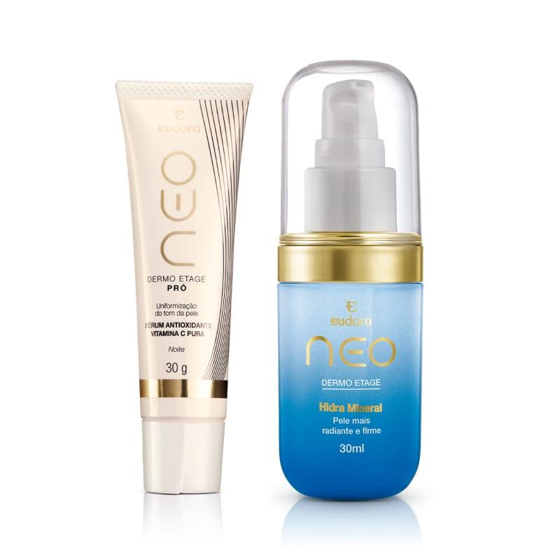 Kit Neo Dermo Etage Sérum Antioxidante + Gel Hidratante