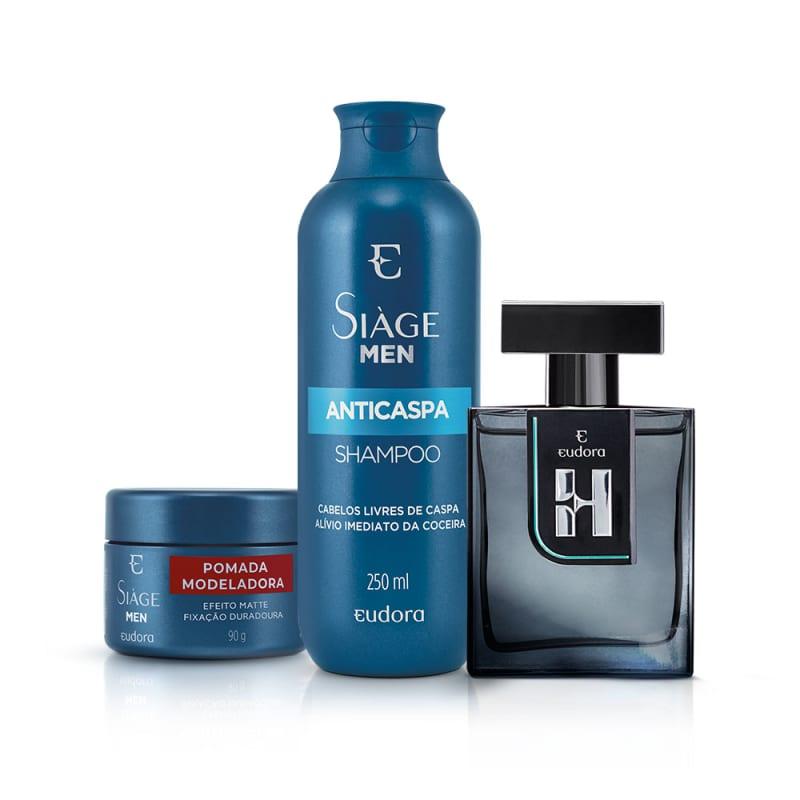 Kit Siàge Anticaspa Men + Colônia Desodorante H