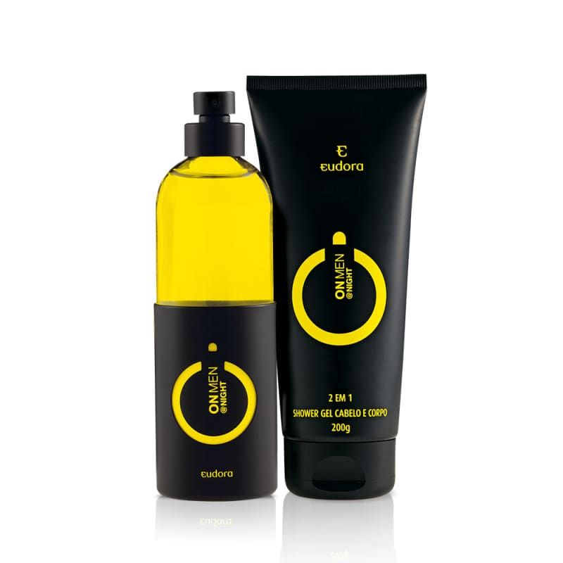 Kit On Men Night Colônia Desodorante + Shower Gel