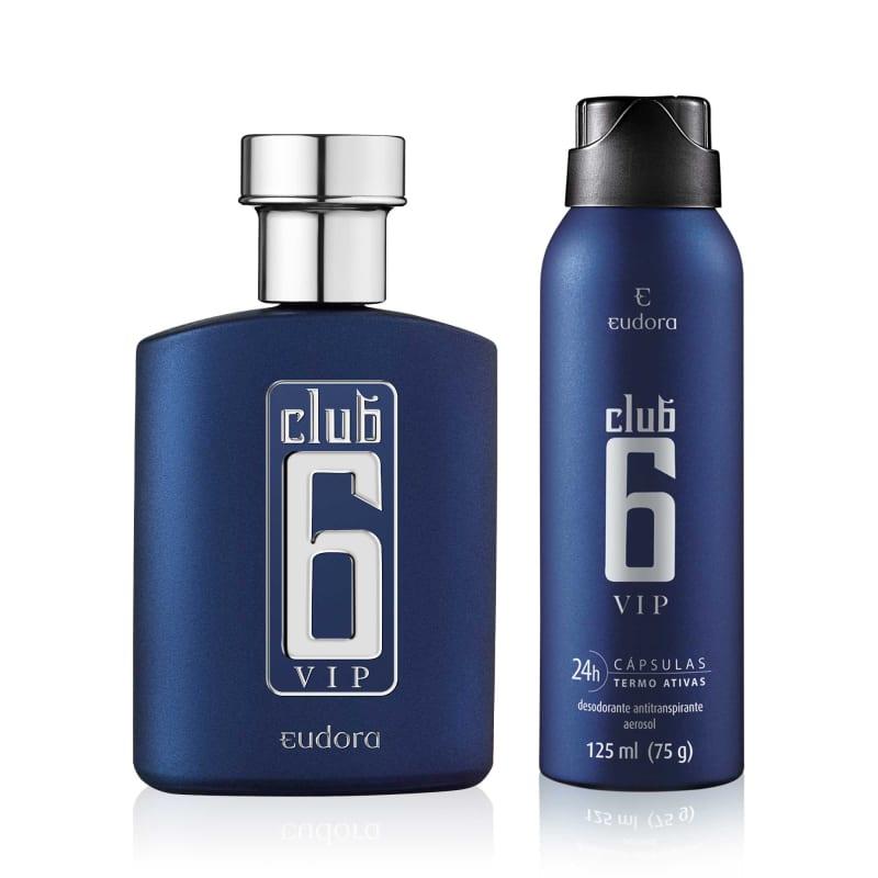 Kit Perfumaria Club 6 VIP Colônia Desodorante + Desodorante