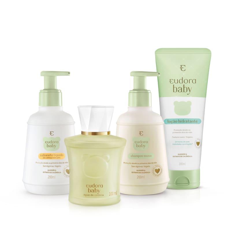 Kit Eudora Baby Completo (4 Produtos)