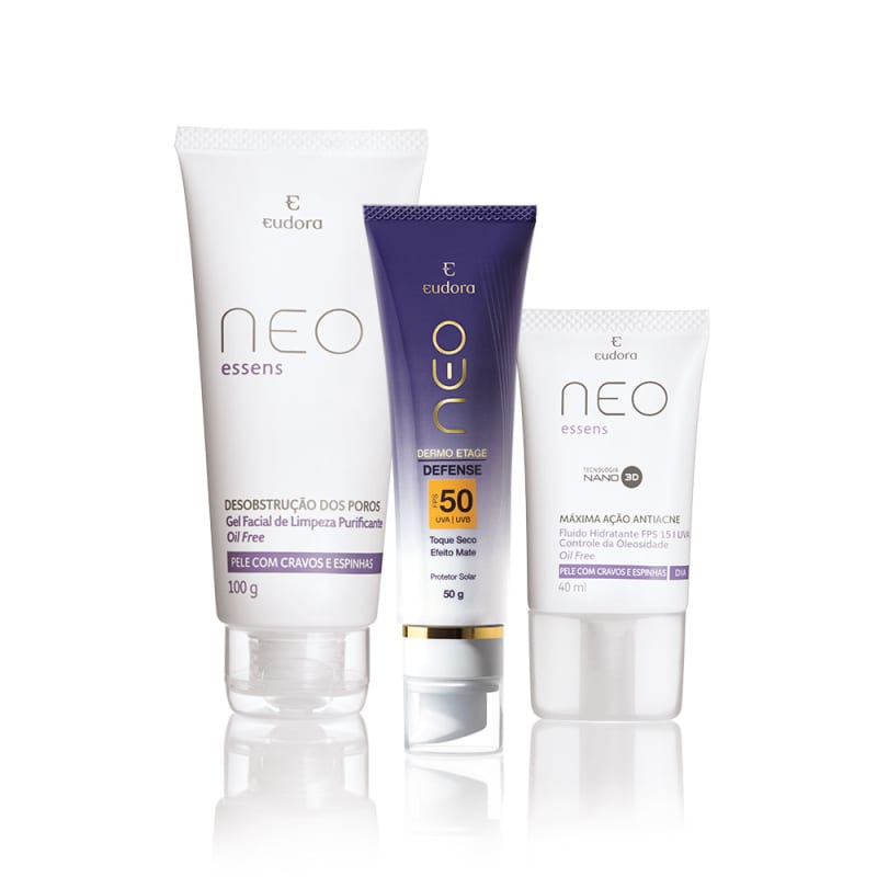 Kit Rotina Skincare Básica - Pele Oleosa