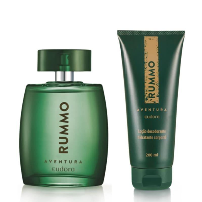 Kit Rummo Aventura Colônia Desodorante + Hidratante Desodorante