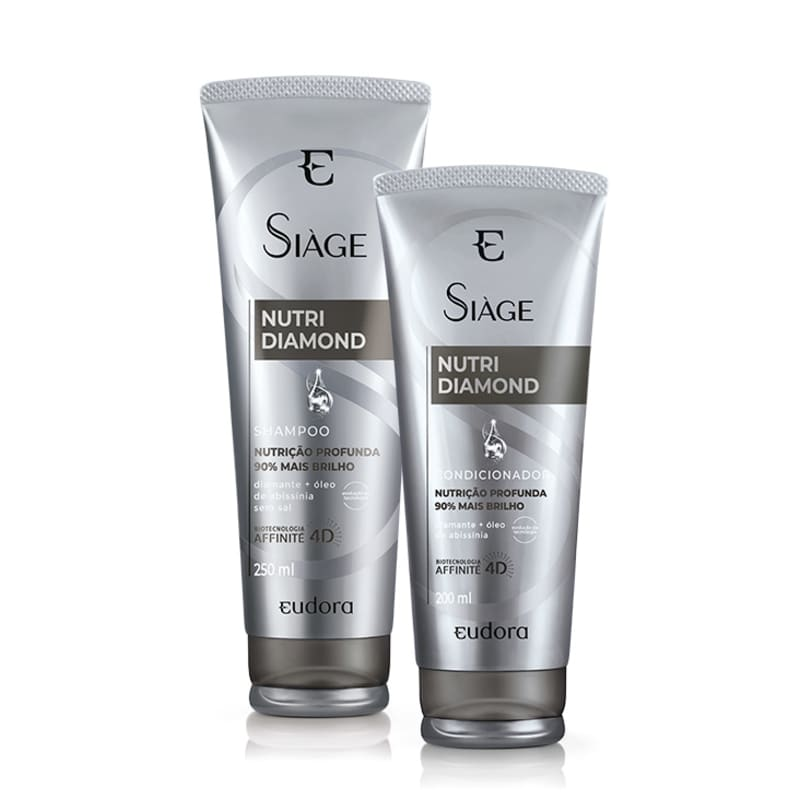Kit Siàge Nutri Diamond Shampoo + Condicionador