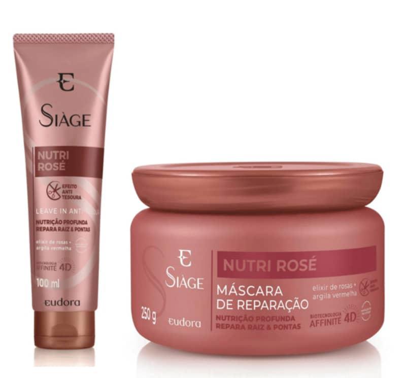 Kit Siàge Nutri Rosé Máscara + Leave-In