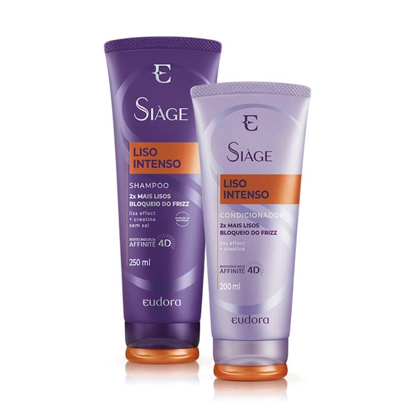 Kit Siàge Liso Intenso Shampoo + Condicionador (Nova Versão)